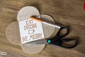 christmas craft burlap gift card holder bless u0027er house
