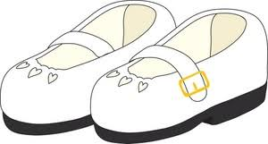shoes clipart image kids white dress shoes