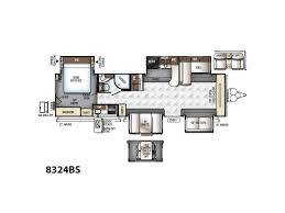 rockwood trailers floor plans 2018 forest river rockwood signature ultra lite 8324bs shreveport