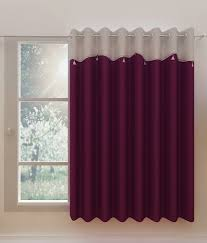 homefab single window eyelet solid purple buy
