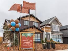 Morrison Homes Design Center Edmonton Hawks Ridge Connects With Nature In Edmonton U0027s Northwest