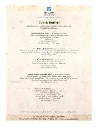 Buffet Menu For Wedding by Banquet Menus For The Senator Inn Augusta Maine Conference Facilities