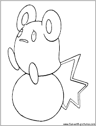 azurill pokemon coloring pages images pokemon images