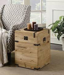 small decorative end tables wooden trunk end table unique tables that the perfect living room