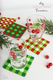 christmas hostess gifts diy coasters a cute christmas craft or gift idea