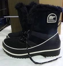 ebay womens winter boots size 9 s sorel tivoli 2 ii winter waterproof boots black noir size