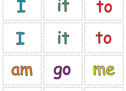 printable kindergarten sight words kindergarten sight words worksheets free printables education com