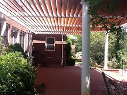 Wood Pergola Designs And Plans by Tubular Steel 20ft X 40ft Pergola Design A Yard And Garden