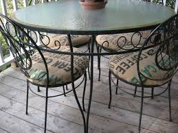 charming outdoor round seat pad dining bistro cushion 25 best