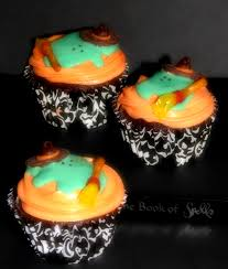 Mini Halloween Cakes by Melting Witch Cupcakes Big Bear U0027s Wife
