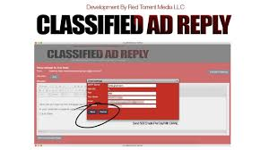 Craigslist Real Estate Ad Templates by Classified Ad Reply Software Review Demo Bonus New Craigslist Ad