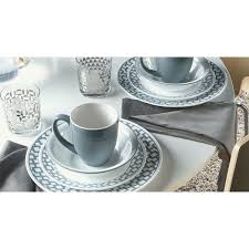 corelle impressions 16 piece set urban grid free shipping today