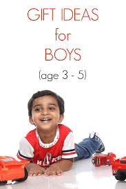 10 gift ideas for four year boys
