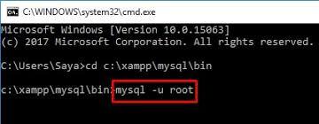membuat database lewat cmd cara membuat database di mysql cpanel localhost niagahoster