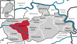 Map Of Frankfurt Germany by Dreieich Wikipedia