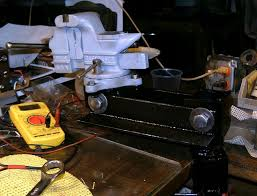 Mounting A Bench Vise 359 Best Homemade Vises Images On Pinterest Homemade Workshop