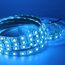 blue led strip lights 12v 5050 smd flexible led strip light 12v dc background pc computer