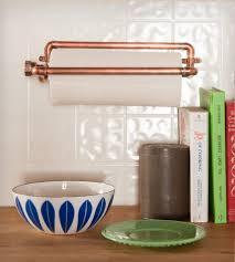 kitchen towel rack ideas industrial copper paper towel holder nine u0026 twenty for the