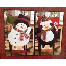 snowman chair covers christmas chair covers search chair covers