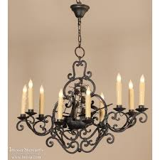 Forged Chandeliers Nautical Wrought Iron Chandelier