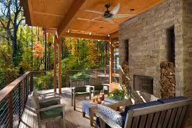 exterior design patio furniture with ceiling fan and wood ceiling