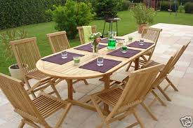 8 Chairs Dining Set Outdoor Rattan Round Table And 8 Chairs 7 Piece Outdoor Dining
