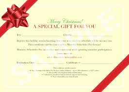 printable christmas gift vouchers christmas gift certificate template free best of printable christmas