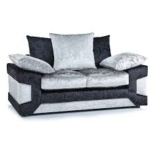 black velvet chesterfield sofa crushed velvet furniture sofas beds chairs cushions