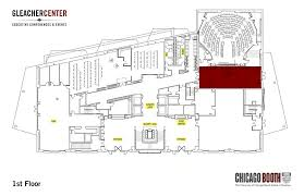large tiered meeting room the university of chicago booth