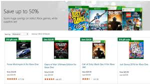 best deal on xbox one black friday xbox game prices slashed up to 50 in microsoft store black friday
