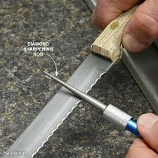 Where To Get Kitchen Knives Sharpened Sharpening Knives Scissors And Tools Family Handyman