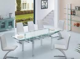 tavoli sala da pranzo allungabili moderno in vetro sala da pranzo tavoli allungabile vetro
