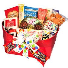 happy birthday gift baskets birthday gift basket treats