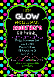 hashtag neon party birthday party invitation birthday glow birthday party invitations gallery invitation design ideas