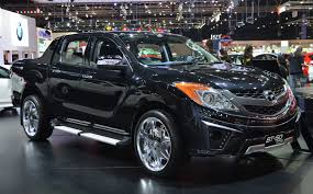 mazda truck 2015 thai motor expo mazda bt 50 thrilling with the bling