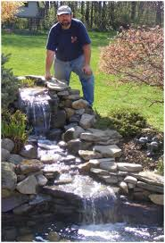 backyards fascinating how to design a garden pond with waterfall