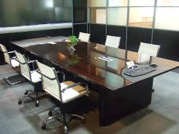 National Conference Table Modern Conference Table Black Culture Desks And Chairs Glass