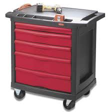 Tool Cabinet On Wheels by Rubbermaid 5 Drawer Work Center Tool Chest