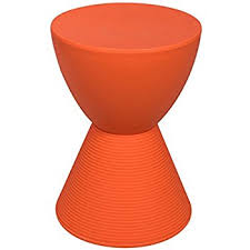 Orange Side Table Leisuremod Modern Boyd Side Table Indoor And Outdoor