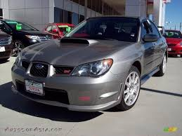 wrx subaru grey 2006 subaru impreza wrx sti in steel gray metallic for sale