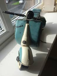 used vintage vespa ornament blue white in sk4 stockport for