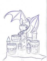 25 castle drawing ideas fantasy drawings