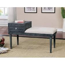 Skyline Furniture Upholstered Storage Bench White Storage Benches You U0027ll Love Wayfair