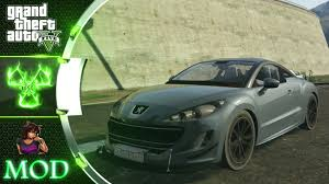 peugeot rcz 2010 peugeot rcz 2010 gta 5 mod showcase youtube