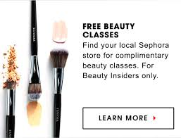 local makeup classes free beauty classes find your local sephora store for