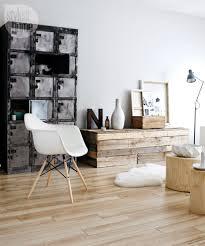 scandinavian furniture bedroom oak flooring pillows danish modern chest of drawers