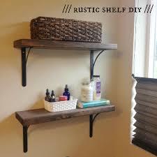 Bathroom Shelves Ideas Brilliant Diy Bathroom Shelf Ideas