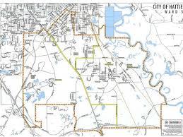 map of hattiesburg ms hattiesburg precinct list and ward maps