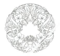 complex flower coloring pages draw background complex flower