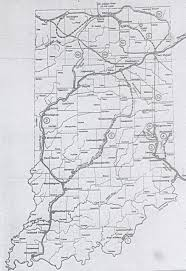 Indiana Map Us X223 Jpg